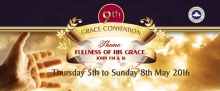 9th Convention Sunday 8 May Message